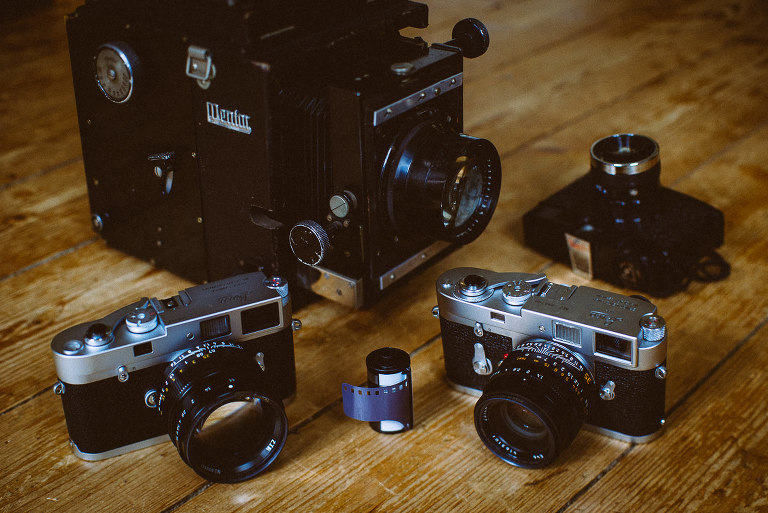 analog wedding photography